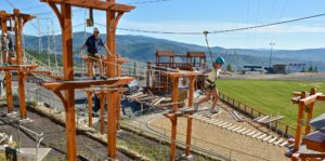 Discovery Ropes Course at Utah Olympic Park