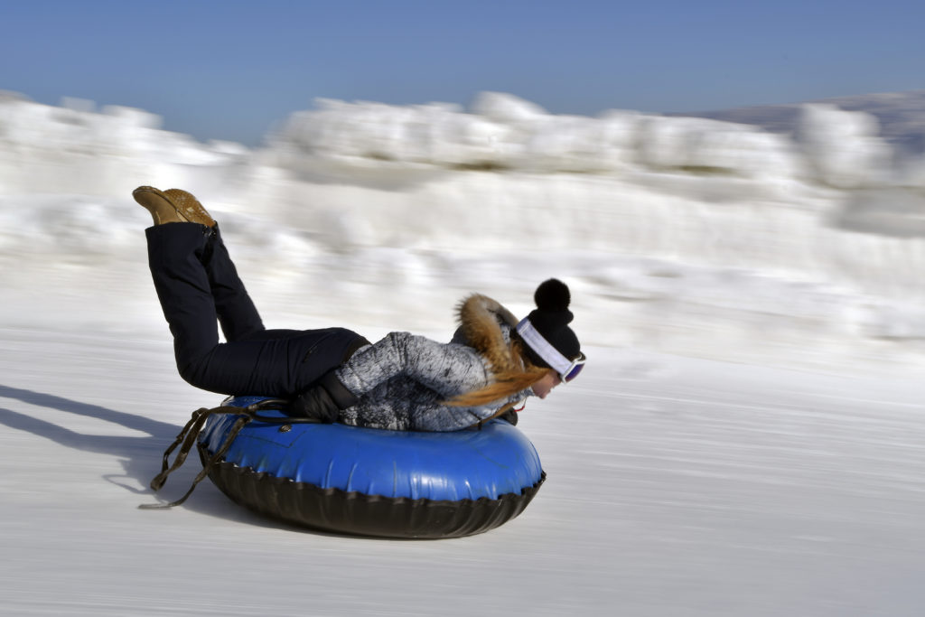 Soldier Hollow Winter Tubing