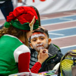 face painting at Utah Olympic Oval